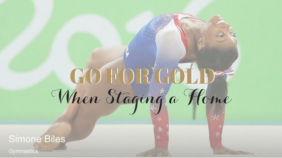 Going for the Gold When Staging a Home