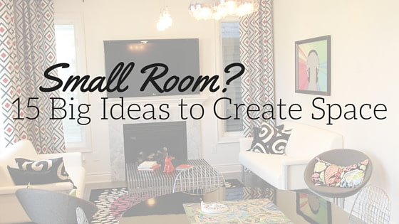 15 Tips to Maximize Space in a Small Room
