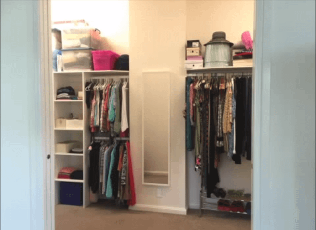 Organizing a Bedroom Closet on a Tight Budget (Home Staging or Home Decor)
