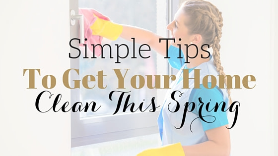 Spring Cleaning Your Home in 5 Steps