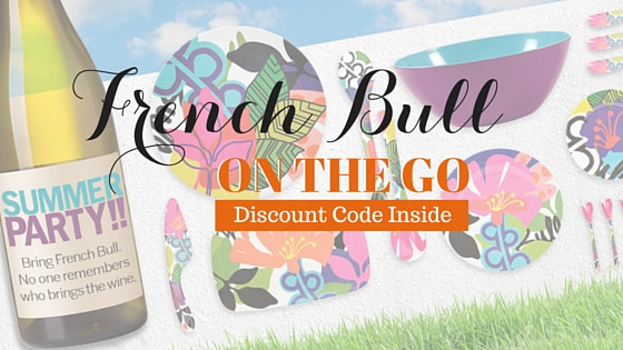 French Bull Takes Color & Pattern On the Go