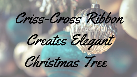Criss-Cross Ribbon