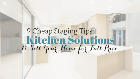 Stage a Kitchen for Under $1000