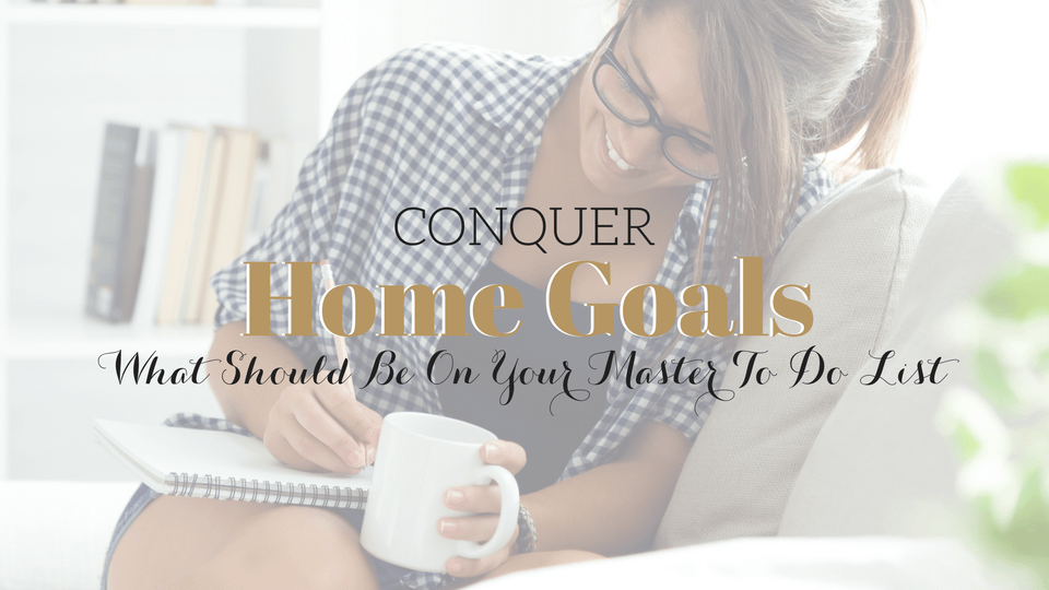"""""""Home Goals"""" to Conquer in 2020"""