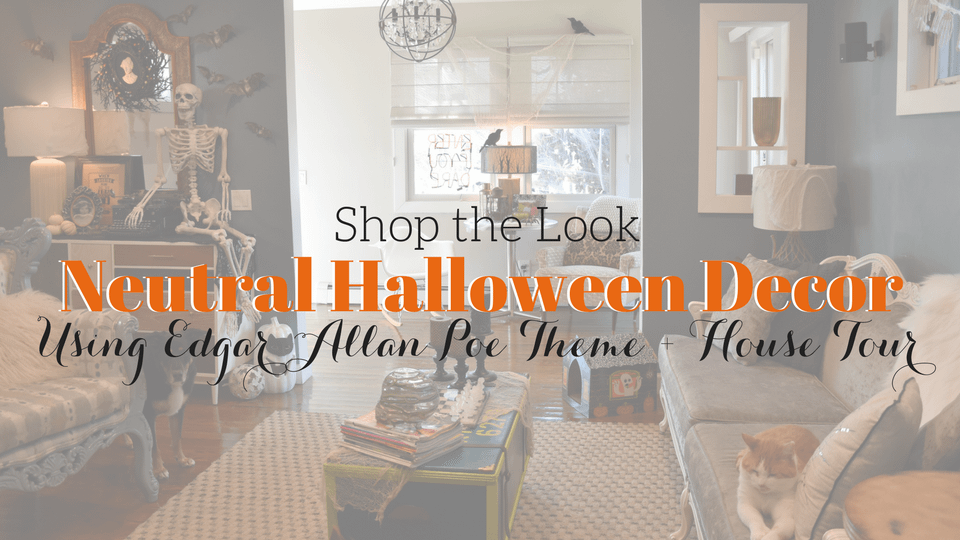 [Shop the Look] Neutral Halloween Decor Ideas + House Tour