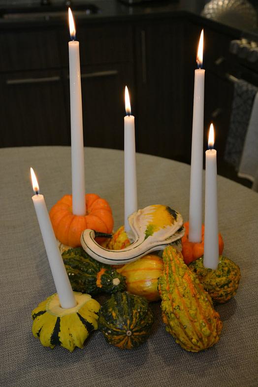 pumpkin-candle-holders