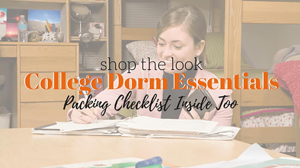 Last Minute Dorm Essentials Every Student Needs